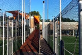 Electrical systems in sports facility