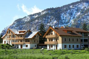 New private housing estate in Bardonecchia