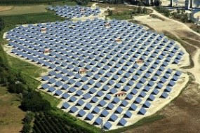 Photovoltaic plant in Fossano