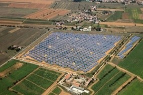 Photovoltaic plants in Tortona